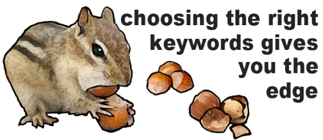 Choosing keywords for Google.fr