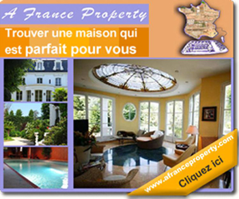 French property website advert