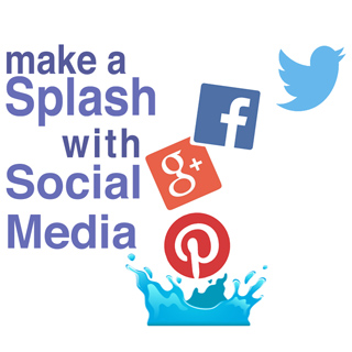 Social media - make a splash